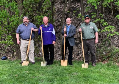 Representatives from City of Alliance, University of Mount Union, Rodman Public Library, and Stark Parks