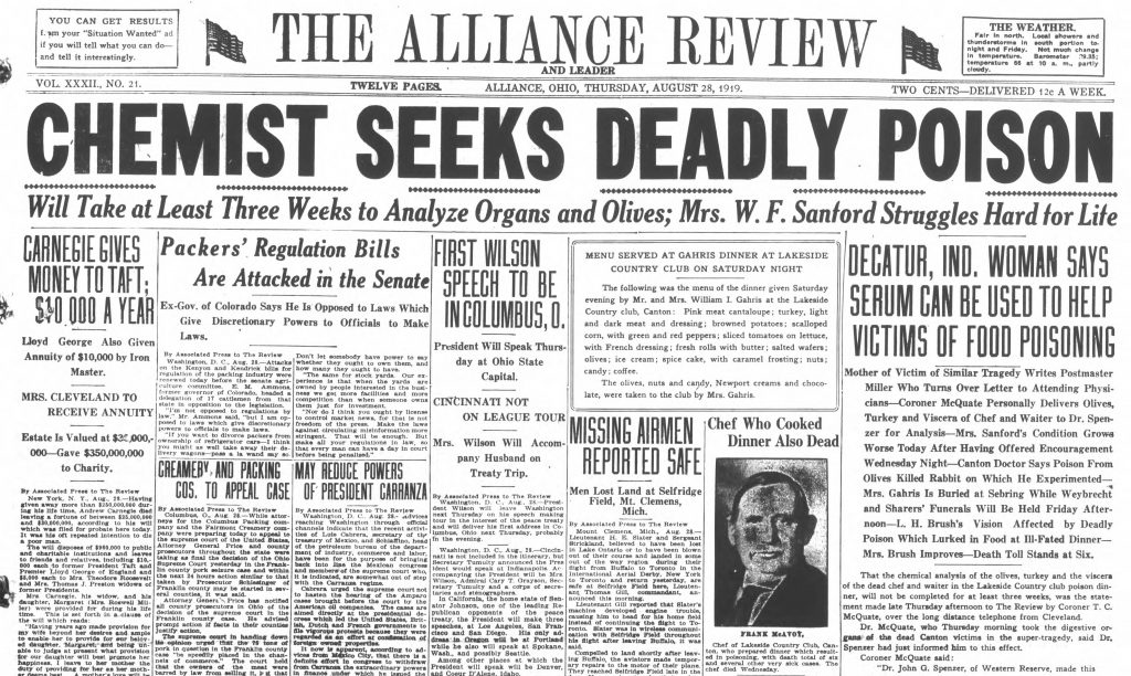 Alliance Review, Aug. 28, 1919
