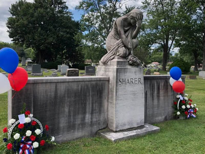 Sharer Memorial in Alliance City Cemetery