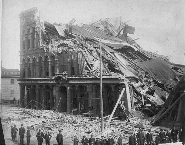 Collapse of Opera House