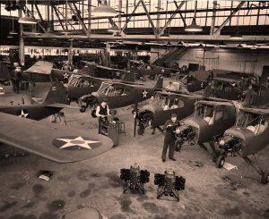 O-57 in final Taylorcraft Hangar