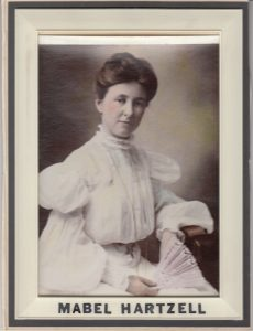 Mabel Hartzell, ca. 1900