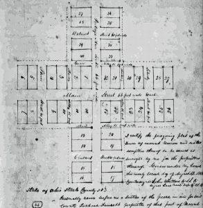 Plat Map of Mt. Union, Ohio