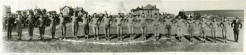 1919 Goat Hill football team